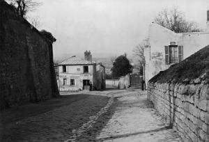 Rue Des Saules, Paris, 1858-78 by Charles Marville