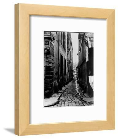 Rue Du Croissant, from the Rue Du Sentier, Paris, 1858-78