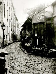 Rue du Jardinet and the Cul-De-Sac of Rohan, Paris, 1858-78 by Charles Marville