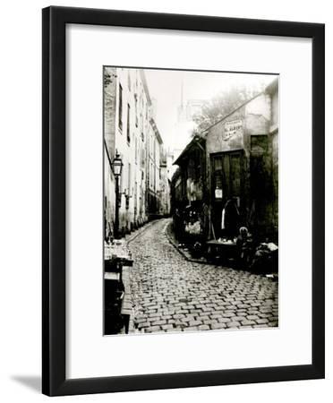 Rue du Jardinet and the Cul-De-Sac of Rohan, Paris, 1858-78