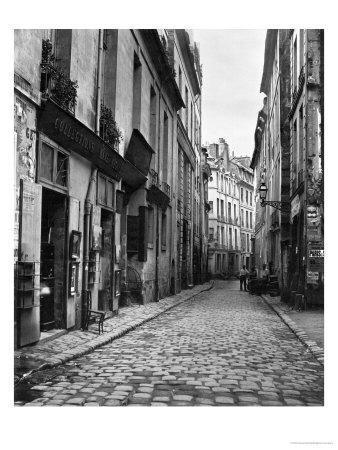 Rue Du Jardinet, from Passage Hautefeuille, Paris, 1858-78