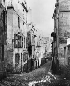 Rue Fresnel, from the Dead End of Versailles, Paris, 1858-78 by Charles Marville