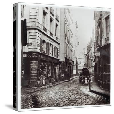 Rue Saint-Severin, from the Rue De La Harpe, Paris, 1858-78