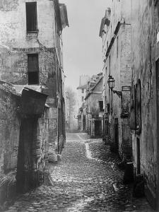 Rue Traversine, from Rue D'Arras, Paris, Between 1858-78 by Charles Marville