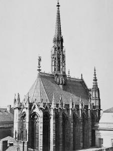 Sainte-Chapelle, Paris by Charles Marville