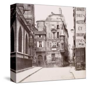 Tourelle derrière l'église Saint-Germain-l'Auxerrois, Paris by Charles Marville