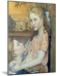 Young Girl and her Guardian Angel, 1894 by Charles Maurin