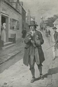 Benjamin Frankin Arriving in Philadelphia by Charles Mills Sheldon