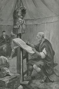 Julius Caesar's Tribute to the Belgians by Charles Mills Sheldon