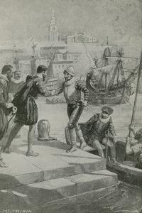 Last Moments of the First World Voyage by Charles Mills Sheldon
