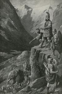 Over the Alps to the Gates of Rome by Charles Mills Sheldon