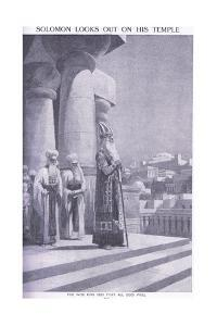 Soloman Looks Out on His Temple by Charles Mills Sheldon
