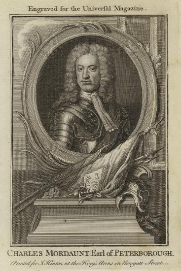 Charles Mordaunt, Earl of Peterborough--Giclee Print