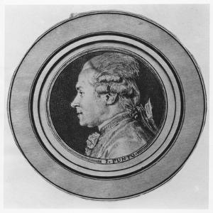 Portrait of Giovanni Punto by Charles Nicolas II Cochin