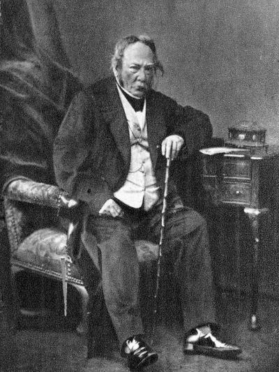 Charles Paul De Kock, French Novelist, 1870--Giclee Print