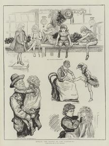 Behind the Scenes at the Pantomime by Charles Paul Renouard