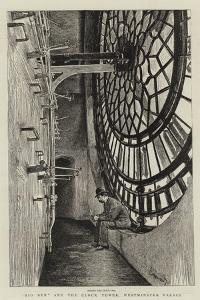 Big Ben and the Clock Tower, Westminster Palace by Charles Paul Renouard