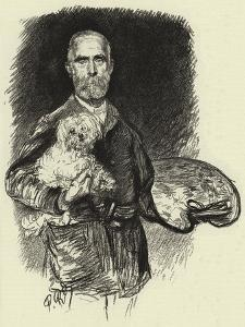Edwin Long by Charles Paul Renouard