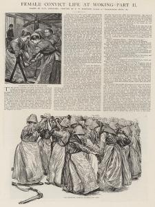 Female Convict Life at Woking by Charles Paul Renouard