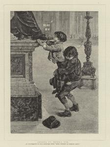 Kissing St Peter's Toe by Charles Paul Renouard