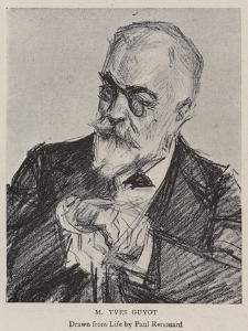 M Yves Guyot by Charles Paul Renouard