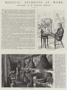 Medical Students at Work by Charles Paul Renouard