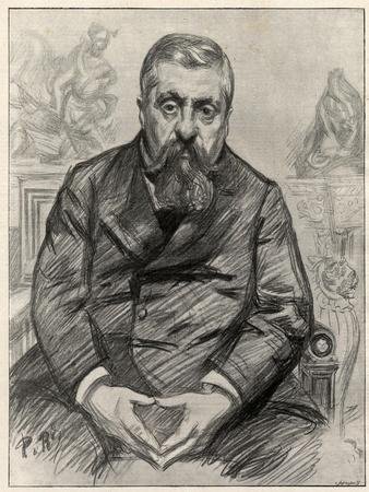 Portrait of Charles Alexandre Dupuy (1851-1923), French statesman