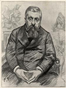 Portrait of Charles Alexandre Dupuy (1851-1923), French statesman by Charles Paul Renouard