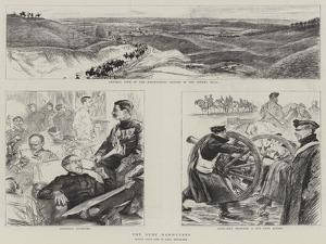 The Army Manoeuvres by Charles Paul Renouard