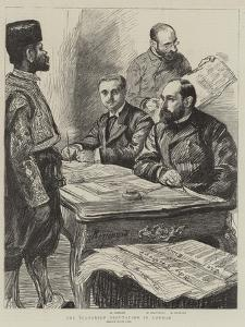 The Bulgarian Deputation in London by Charles Paul Renouard