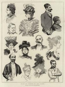 Types of Visitors to the Casino by Charles Paul Renouard