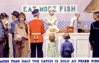 Eat More Fish by Charles Pears