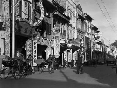 Singapore Street Scene