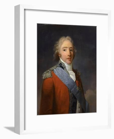 Charles-Philippe De France, Count of Artois (1757-183)-Henri-Pierre Danloux-Framed Giclee Print
