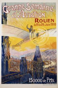 Grande Semaine D'Aviation Poster by Charles Rambert