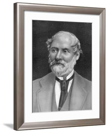 Charles Reade, 19th Century English Novelist and Dramatist--Framed Giclee Print