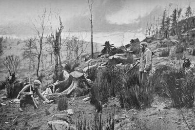 Putting in the Ferret, c1900, (1903)