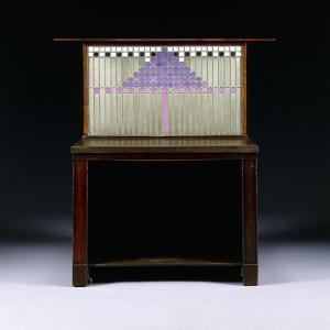 A Writing Cabinet Designed for Walter W. Blackie Esq., Hill House, Edinburgh, 1904 by Charles Rennie Mackintosh