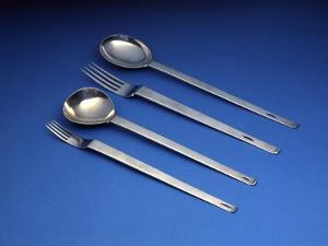 D.W. Hislop Set of Spoons and Forks by Charles Rennie Mackintosh