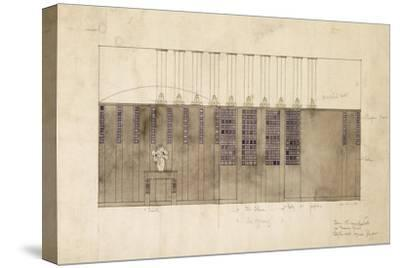 Design for a Wall, Table and Doors, for A.S. Ball, Berlin, 1905
