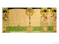 The Wassail, 1900-Charles Rennie Mackintosh-Mounted Giclee Print