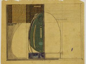 Design for W.J. Bassett-Lowke, 1916 by Charles Rennie Mackintosh