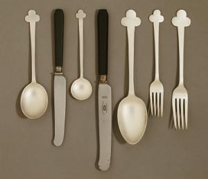 Electroplated Table Service, for E. Bingham and Co., C.1906 by Charles Rennie Mackintosh