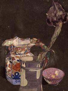 Grey Iris, 1855 by Charles Rennie Mackintosh