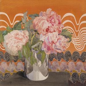 Peonies, c.1920 by Charles Rennie Mackintosh