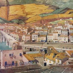 'Port Vendres, La Ville', c1925 by Charles Rennie Mackintosh