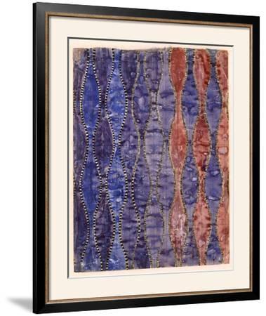 Textile Design (W/C on Paper)