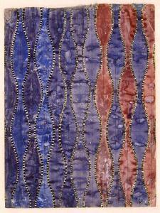 Textile Design (W/C on Paper) by Charles Rennie Mackintosh