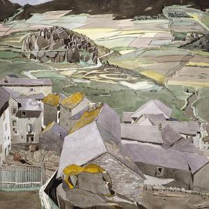 The Village of La Lagonne by Charles Rennie Mackintosh
