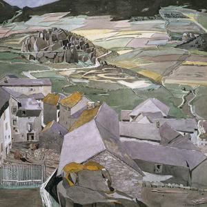 The Village of La Llagonne by Charles Rennie Mackintosh